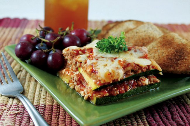 Plate of No Noodle Lasagna