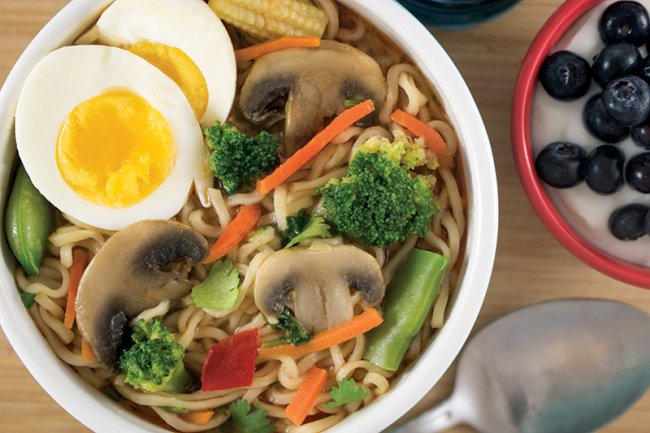 Bowl of Easy Gourmet Ramen