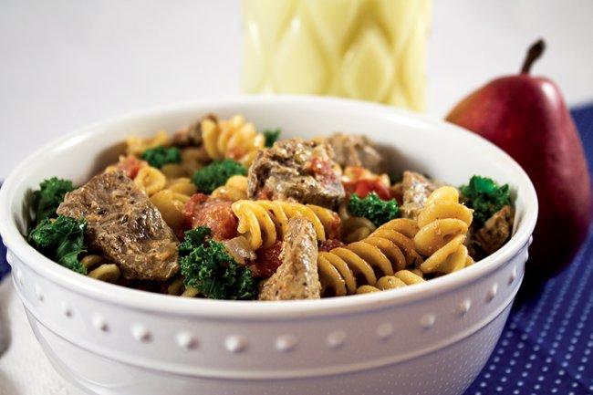 Bowl of Tuscan Steak Pasta