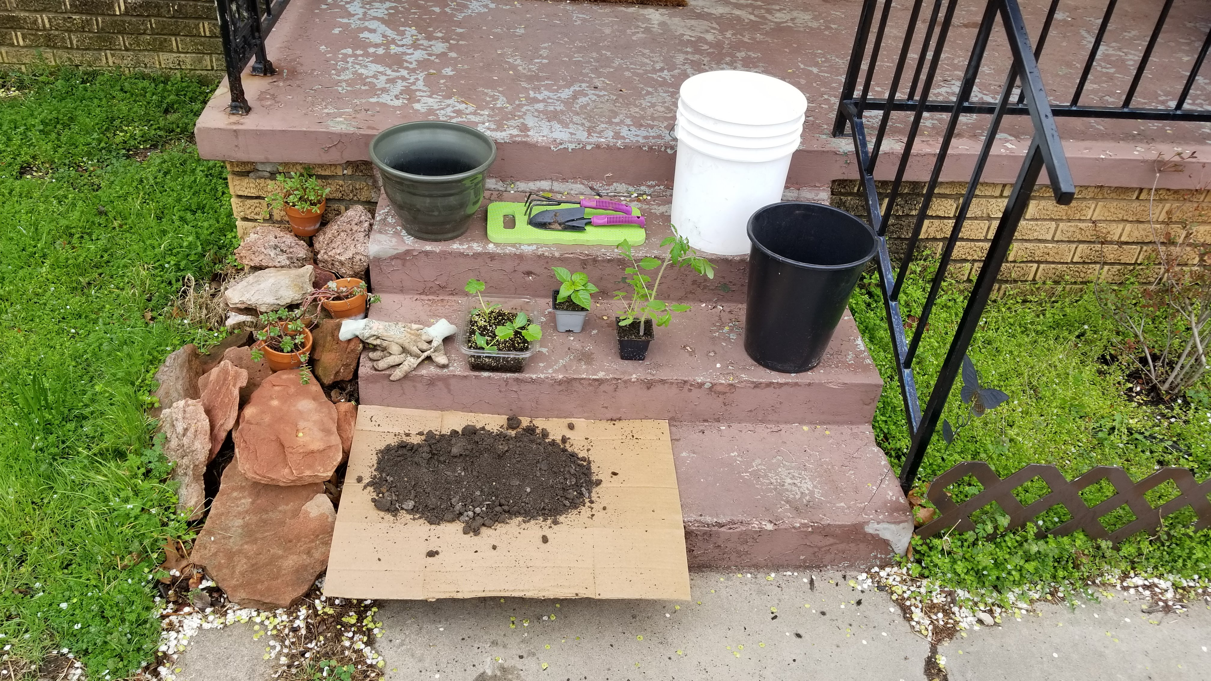 Gardening materials