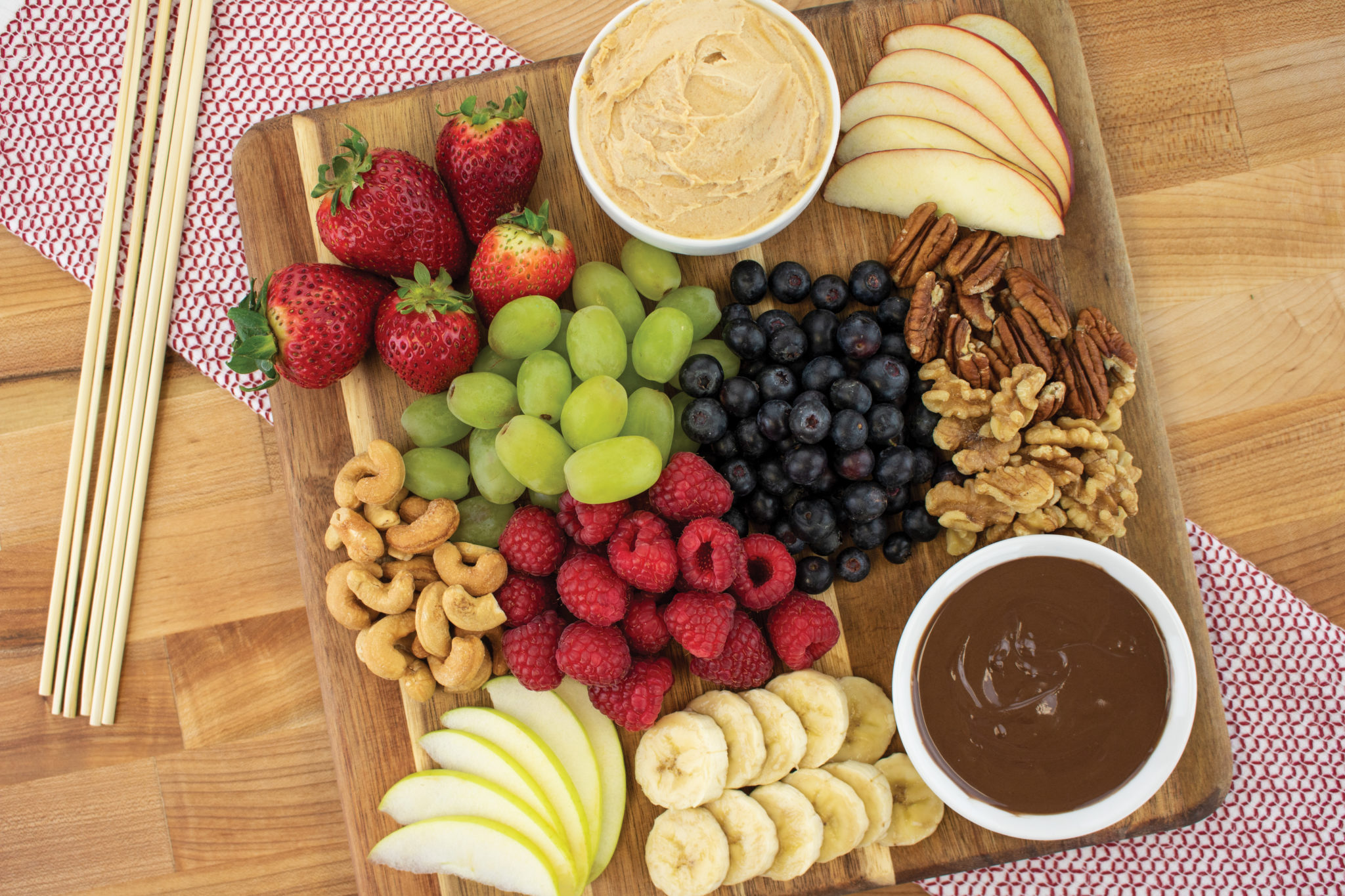 DIY Healthy Dessert Platter
