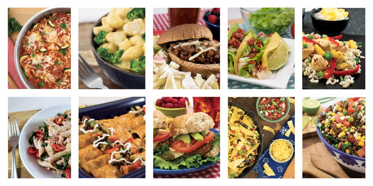 10 dinner recipes