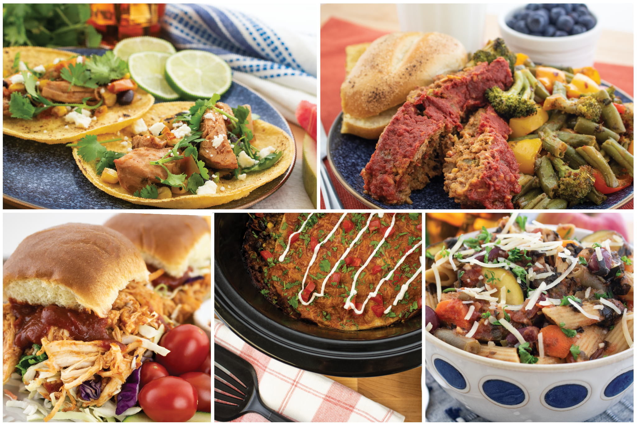 Slow cooker recipes montage