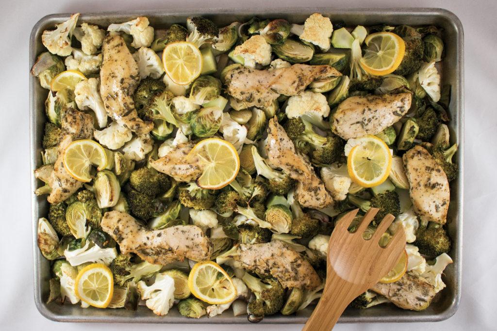 Roasted Rosemary Chicken & veggies