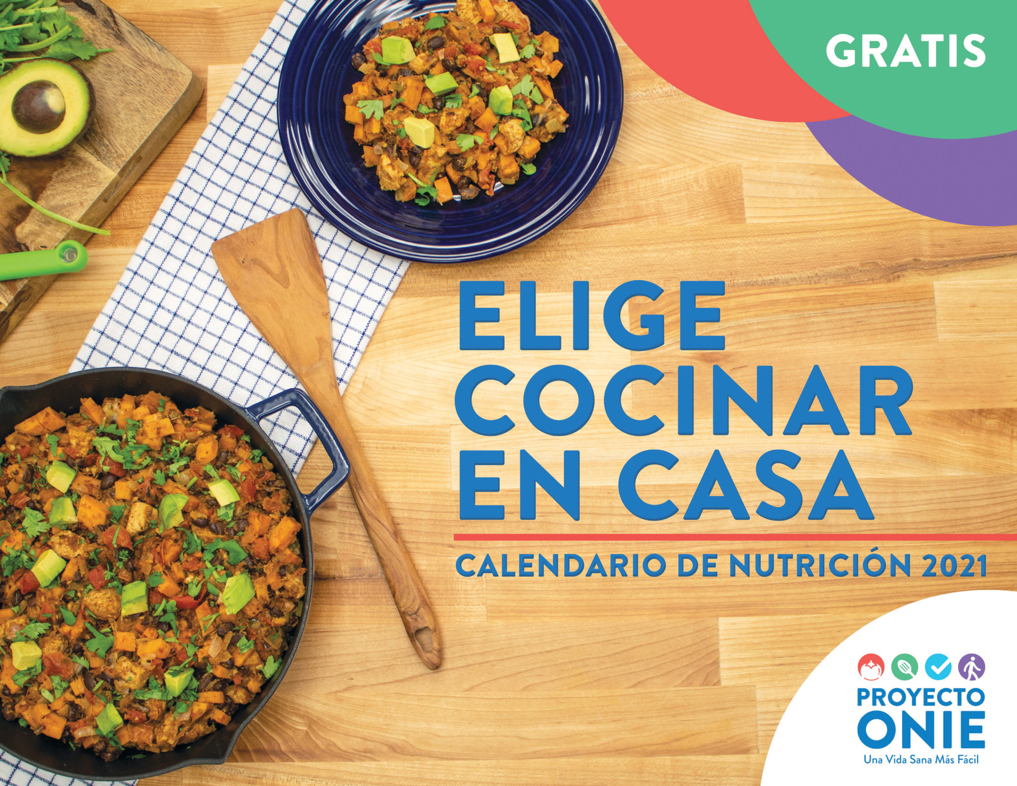 spanish 2021 onie calendar cover
