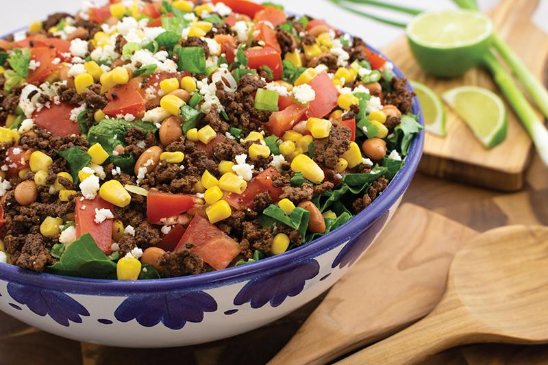 Beefy Taco Salad