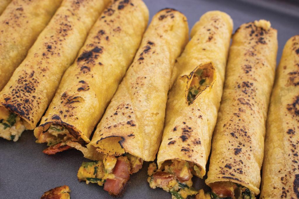 breakfast taquito